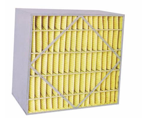 箱式中效过滤器 空调箱式空气过滤器